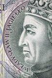 Wladyslaw Jagiello, on polish money Royalty Free Stock Photo
