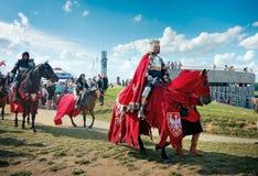 Wladyslaw Jagiello - rey polaco de Jogaila Fotos de archivo libres de regalías