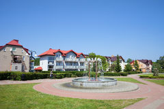 Wladyslawowo Town in Poland Royalty Free Stock Images