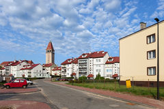 Wladyslawowo Town in Poland Royalty Free Stock Photo