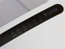 WLAN router. Royalty Free Stock Photography