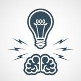 Wlasność intelektualna - władza umysł Fotografia Stock