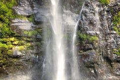 Wli waterfall in the Volta Region in Ghana Royalty Free Stock Image