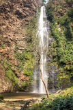 Wli waterfall in the Volta Region in Ghana Royalty Free Stock Photo