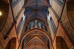 Wloclawek Kathedrale Stockbild