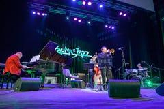 Wlodek Pawlik przy Kaunas jazzem 2015 Obraz Royalty Free