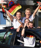 WM 2010 Duitsland - het 4:1 van Engeland Royalty-vrije Stock Foto's