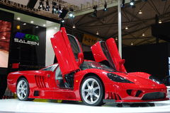 WM GTA  Saleen sport car Stock Photos