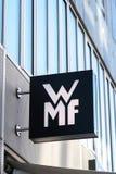 WMF sklepu signage Fotografia Royalty Free