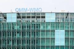 The WMO building in Geneva, Switzerland Royalty Free Stock Photo