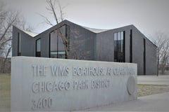 WMS-sjöboden på Clark Park, Chicago, studioligaarkitekter Fotografering för Bildbyråer