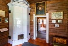 Wnętrze muzealny Aleksander Suvorov w nieruchomości obraz stock