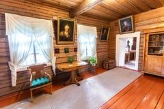 Wnętrze muzealny Aleksander Suvorov w nieruchomości fotografia stock