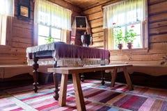 Wnętrze muzealny Aleksander Suvorov w nieruchomości zdjęcie stock