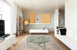 Wnętrza, żywy pokój obraz royalty free