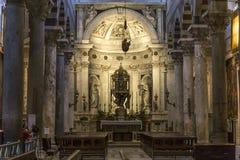Wnętrza i szczegóły Pisa katedra, Pisa, Włochy Zdjęcia Stock