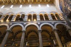 Wnętrza i szczegóły Pisa katedra, Pisa, Włochy Zdjęcie Royalty Free