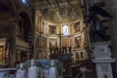 Wnętrza i szczegóły Pisa katedra, Pisa, Włochy Fotografia Stock