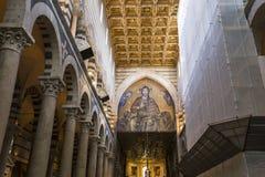 Wnętrza i szczegóły Pisa katedra, Pisa, Włochy Obrazy Royalty Free