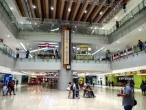 Wnętrza, korytarze i przechują wśrodku SM Megamall Fotografia Royalty Free