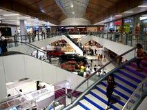 Wnętrza niedawno rozpieczętowany SM Ortigas Wschodni centrum handlowe Fotografia Royalty Free