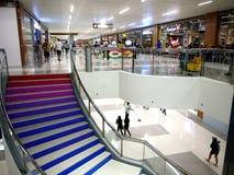 Wnętrza niedawno rozpieczętowany SM Ortigas Wschodni centrum handlowe Obrazy Stock