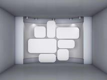 wnętrza nyżowi obrazków światło reflektorów Zdjęcia Royalty Free