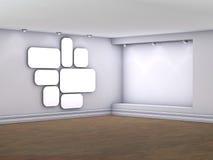wnętrza nyżowi obrazków światło reflektorów Zdjęcia Stock