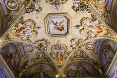 Wnętrza Palazzo Pitti, Florencja, Włochy Fotografia Royalty Free