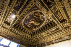 Wnętrza Palazzo Vecchio, Florencja, Włochy Fotografia Stock