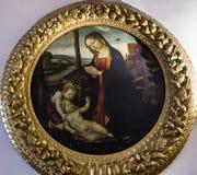 Wnętrza Palazzo Vecchio, Florencja, Włochy Obrazy Stock