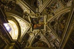 Wnętrza Raphael pokoje, Watykański muzeum, Watykan Fotografia Royalty Free