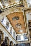 Wnętrza Sant'Agata katedra w Gallipoli, Włochy Obrazy Stock