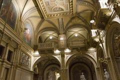 Wnętrza Wiedeń opera, nikt wokoło Obraz Royalty Free