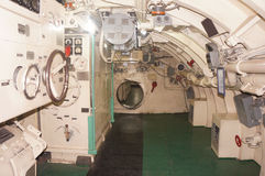 Wnętrze łódź podwodna Obraz Stock