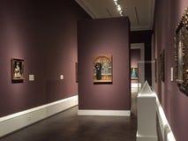 Wnętrze łąki Muzealny Dallas TX obrazy royalty free