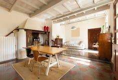 Wnętrze ładny loft zdjęcie royalty free