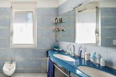 Wnętrze, łazienka fotografia stock