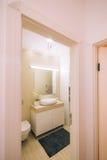 Wnętrze łazienka Wewnętrzny projekt Łazienka w a Obrazy Royalty Free