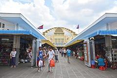 Wnętrze Środkowy rynek (Phsar Thmei) Fotografia Royalty Free