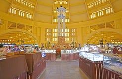 Wnętrze Środkowy rynek (Phsar Thmei) Zdjęcia Stock
