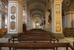 Wnętrze świątynia Święta katedra Pasto Kolumbia lub serce Obraz Stock