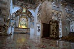 Wnętrze świątynia Święta katedra Pasto Kolumbia lub serce Zdjęcie Royalty Free