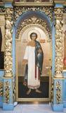 Wnętrze świątynia Don ikona matka bóg Obrazy Stock