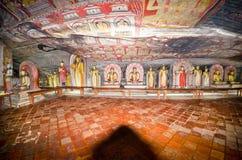 wnętrze świątynia rockowa królewska Fotografia Royalty Free