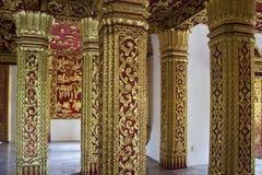Wnętrze świątynny Haw Pha uderzenie fotografia stock