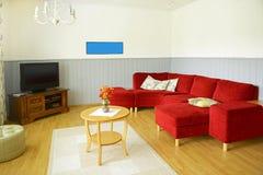 Wnętrze żywy pokój Fotografia Royalty Free