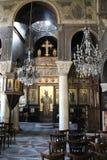 Wnętrze ażio Nikà ³ Laos Ragavà ¡ s kościół, Ateny Fotografia Royalty Free