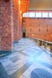 Wnętrze Błękitny Hall Zdjęcia Stock