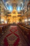 Wnętrze barokowy kościół pokój w Swidnica Obraz Royalty Free